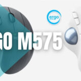 Logicool ERGO M575レビュー。人気のトラックボールマウスを使ってみた。